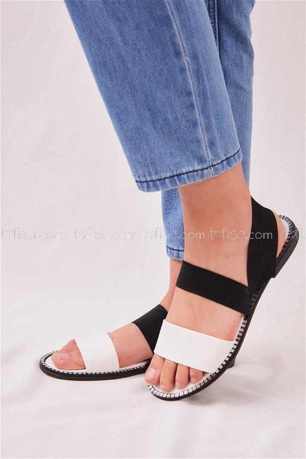Sandalet BEYAZ - 20178
