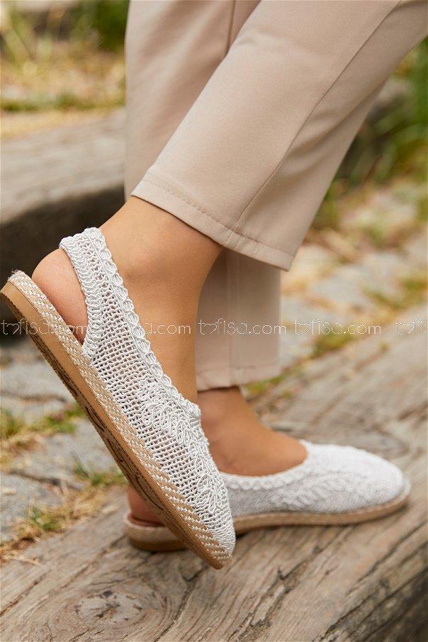 Sandalet BEYAZ - 20400