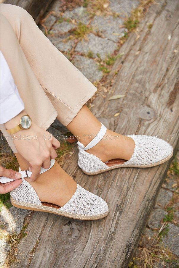 Sandalet BEYAZ - 20407