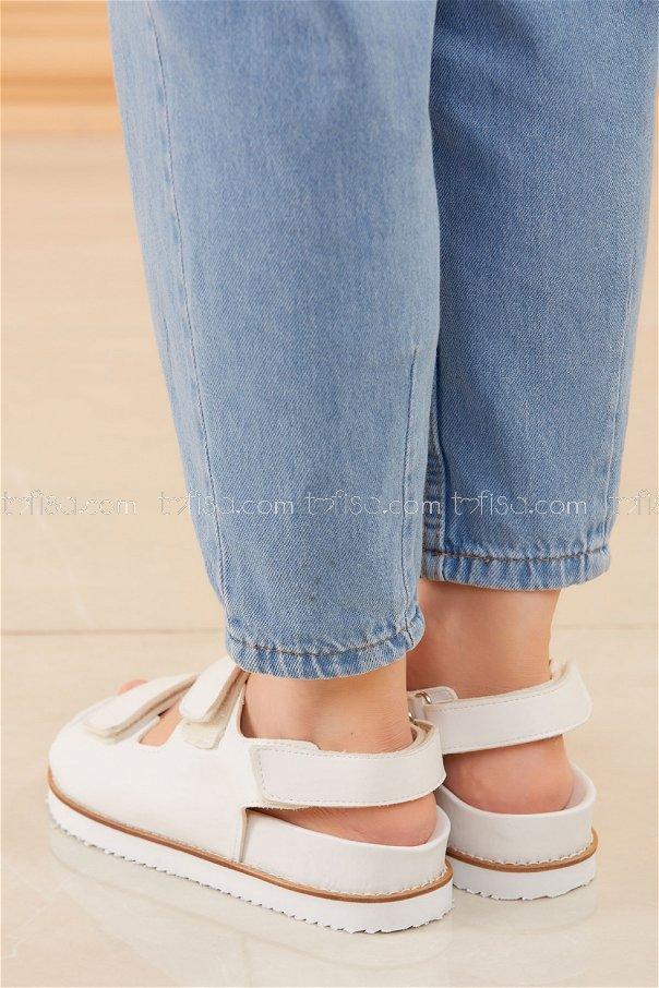 Sandalet BEYAZ - 20595