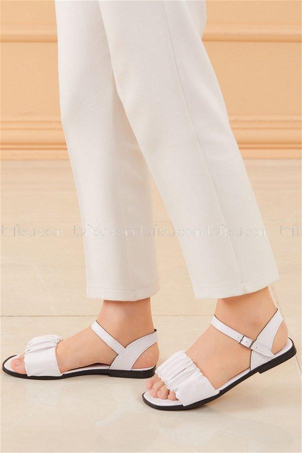 Sandalet BEYAZ - 20612