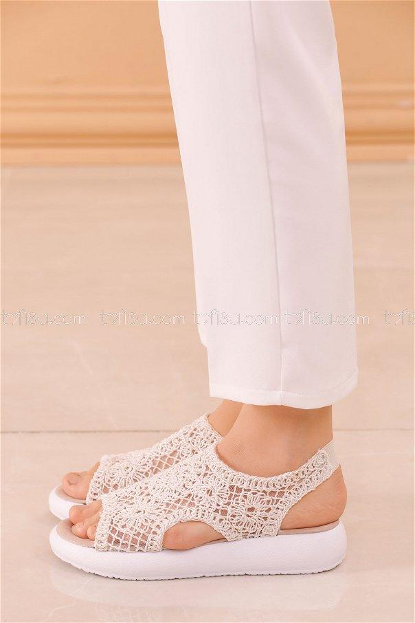 Sandalet BEYAZ - 20622
