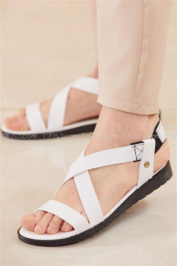 Sandalet BEYAZ - 20624
