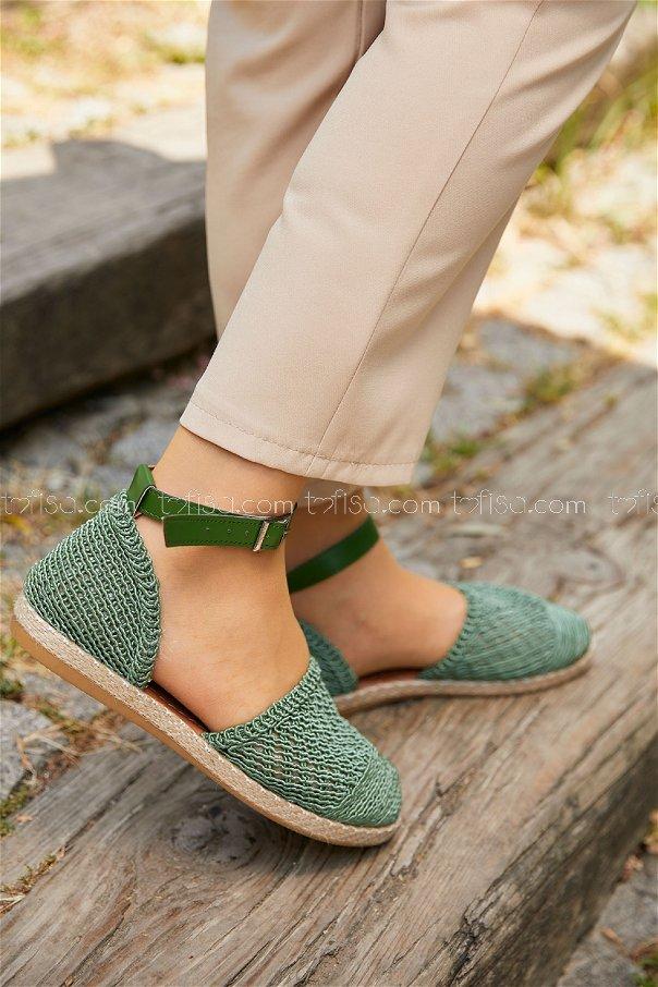 Sandalet FISTIK YESILI - 20407