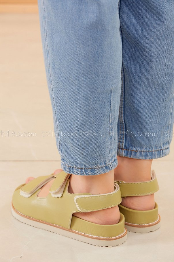 Sandalet FISTIK YESILI - 20595
