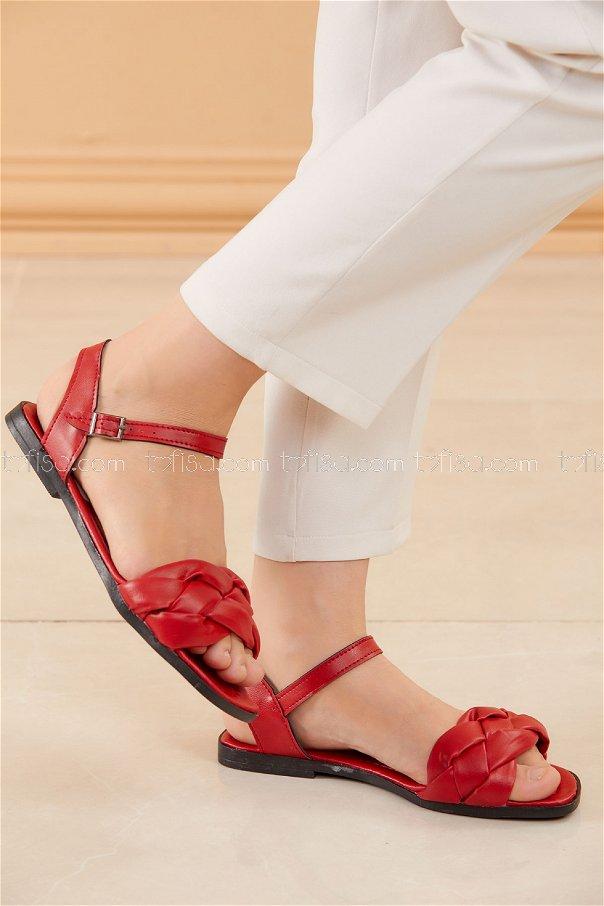 Sandalet KIRMIZI - 20601