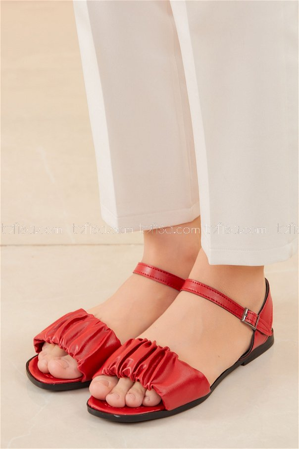 Sandalet KIRMIZI - 20612