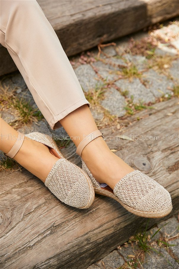 Sandalet KREM - 20407