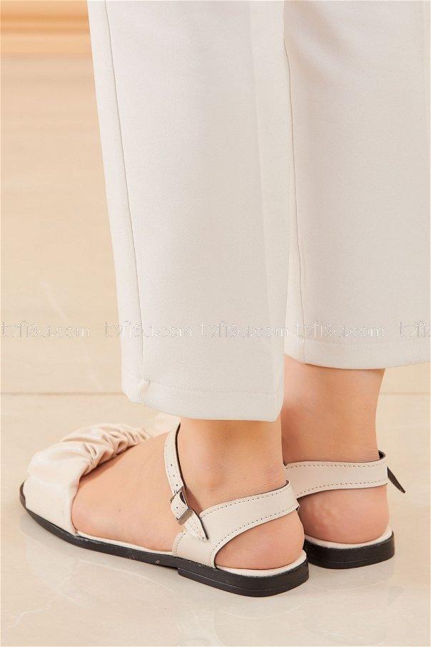 Sandalet KREM - 20612