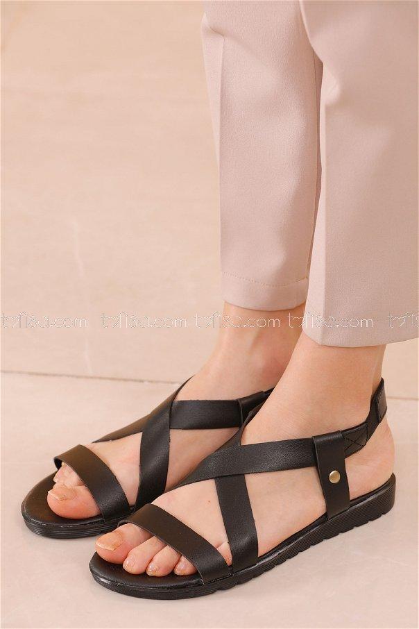 Sandalet SIYAH - 20624