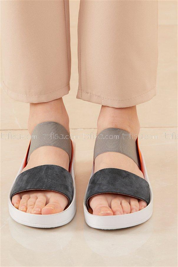 Sandelet KOYU GRI - 20526