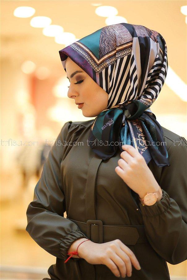 shawl Desenli Emerald - 8277