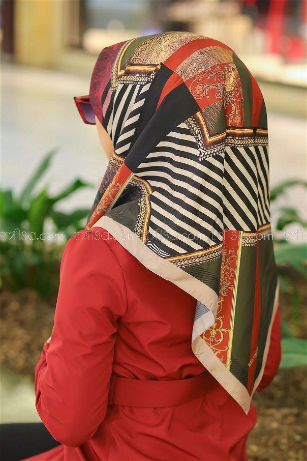 shawl Desenli mink - 8277