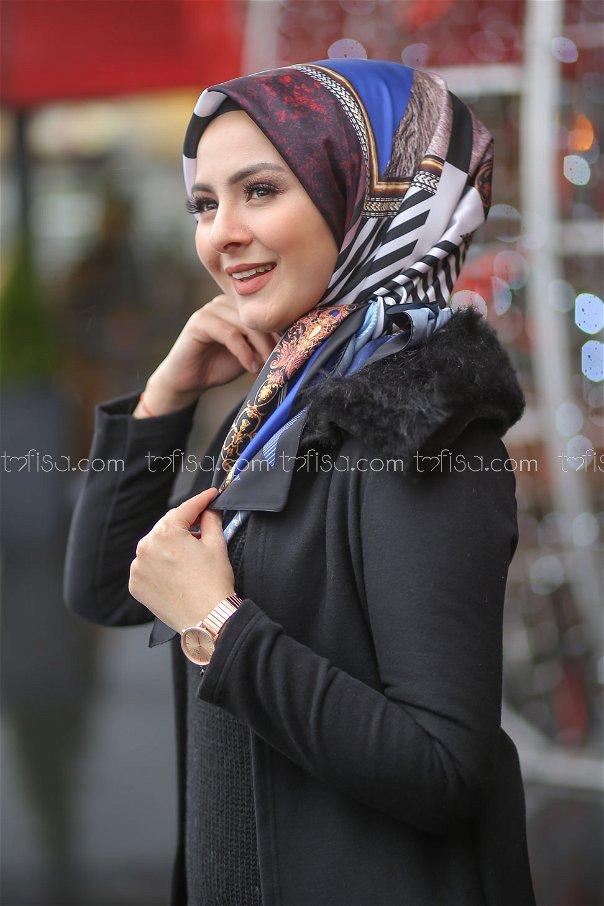 shawl Desenli saks - 8277
