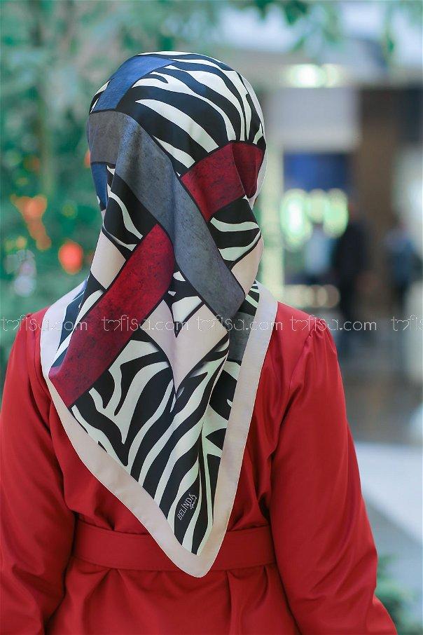 shawl patterned Powder - 8276