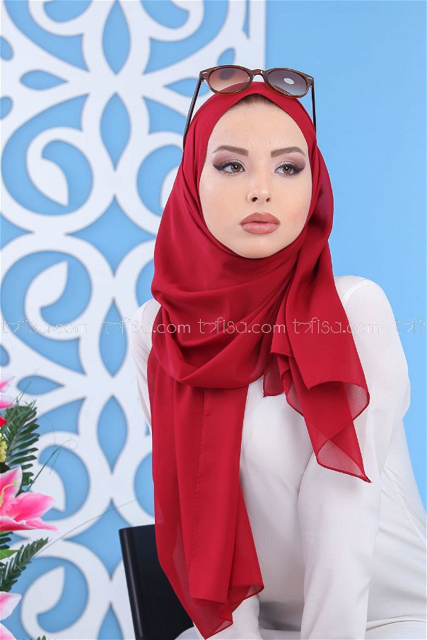 Shawl Siphon Claret Red - 02 7103
