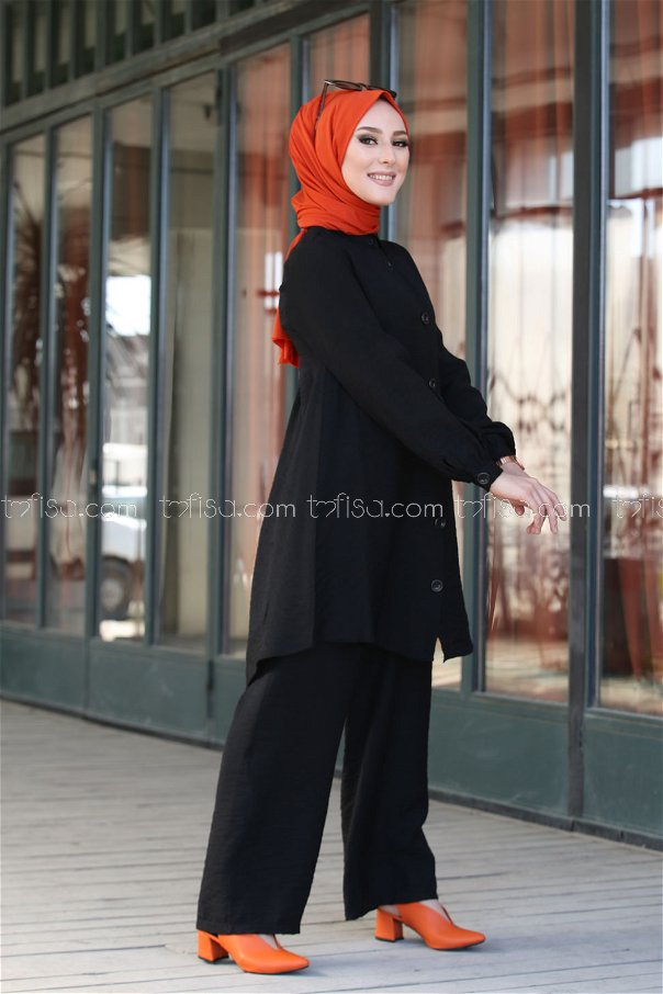 Shirt Black - 3042
