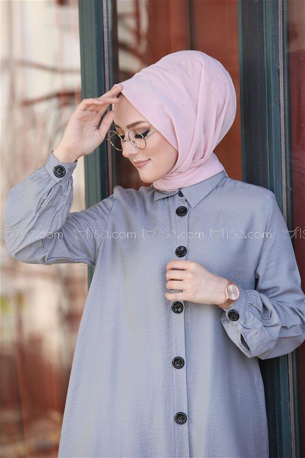 Shirt Grey - 3042