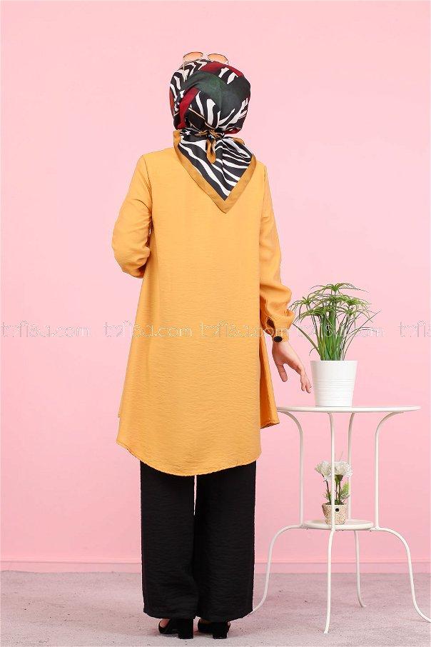Shirt Mustard - 3042