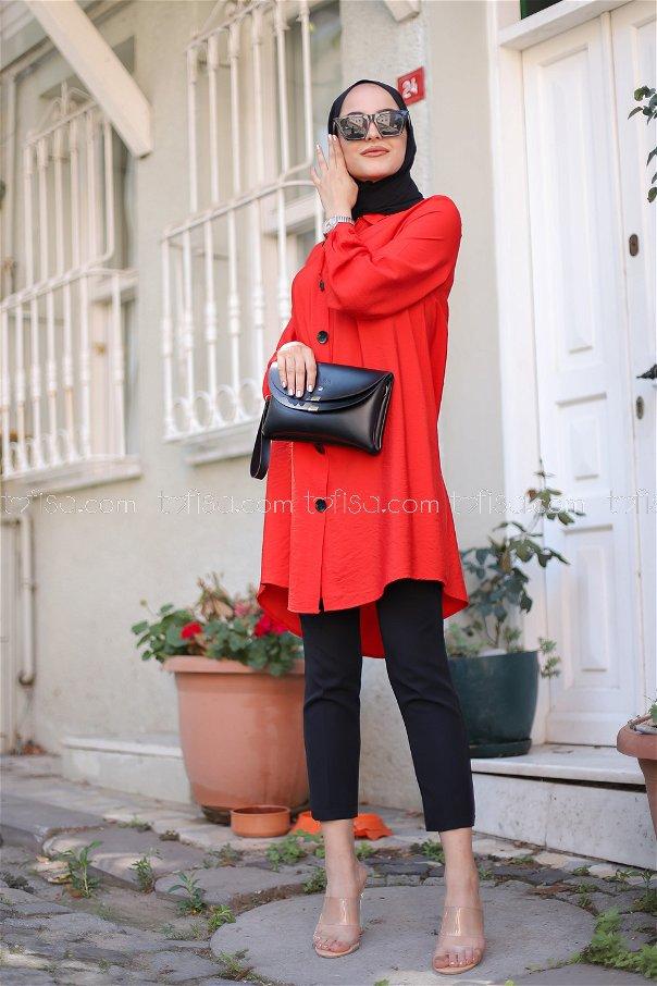 Shirt Red - 3042