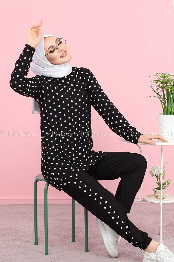 Shirt Tight Black - 3074