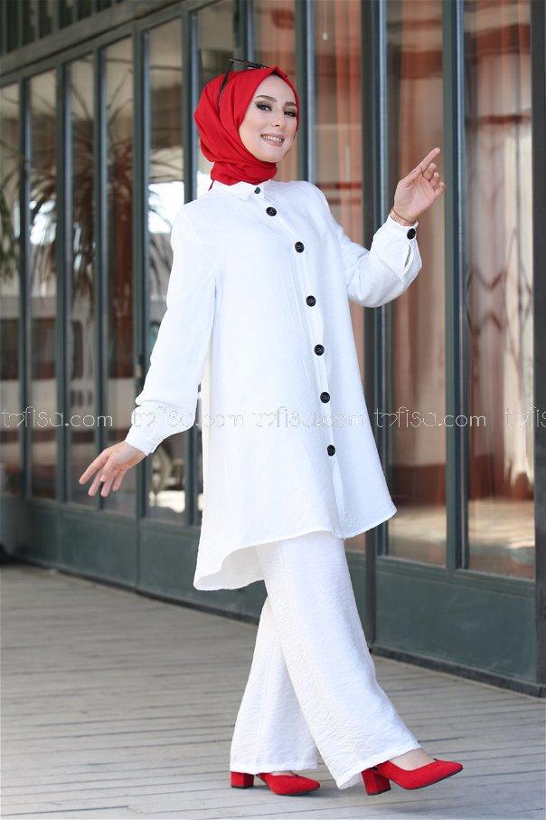 Shirt White - 3042
