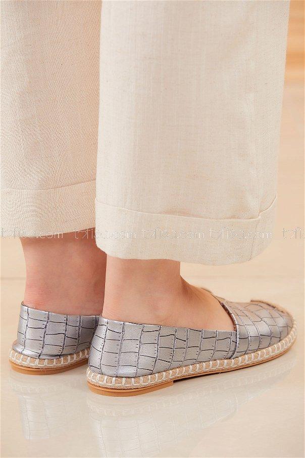 Shoe silver - 20571