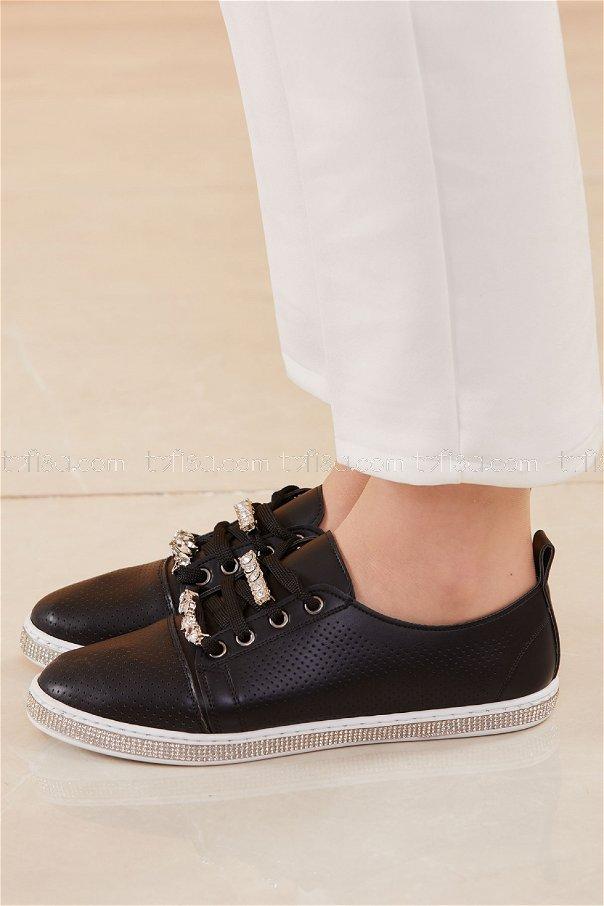Sımlı Ayakkabı SIYAH - 20578