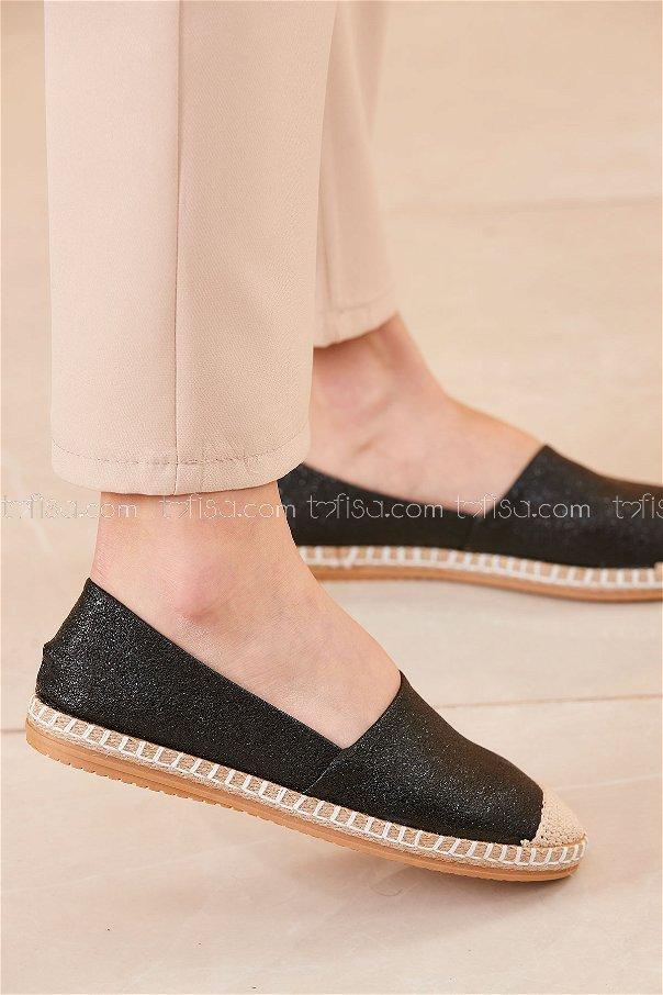 Sımlı Babet Ayakkabı SIYAH - 20413