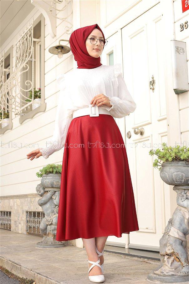 Skirt Claret Red - 3124