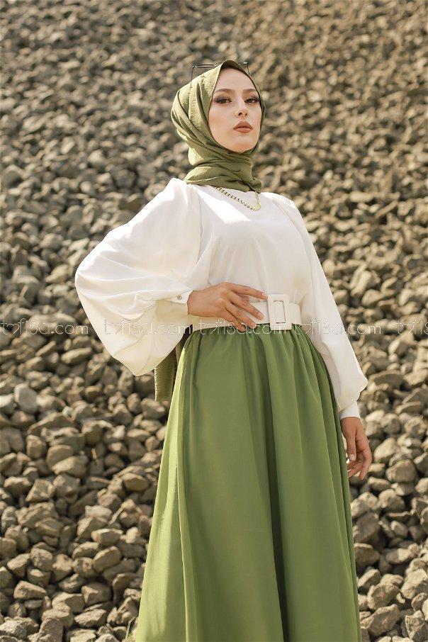 Skirt Green - 3222