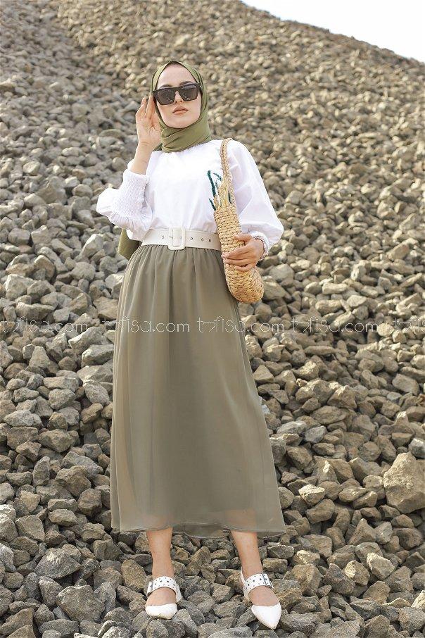 Skirt Khaki - 3222