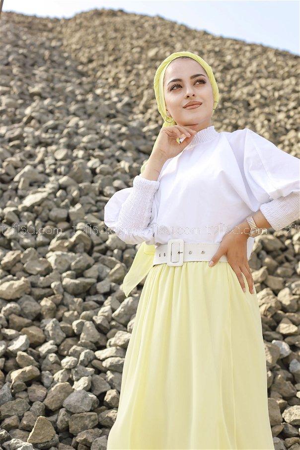 Skirt Light Yellow - 3222