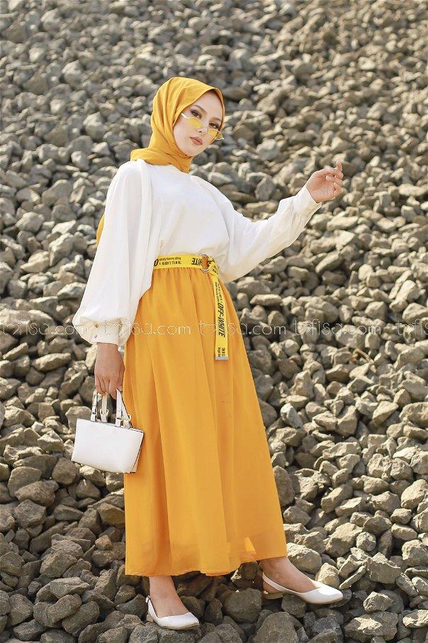 Skirt Mustard - 3222