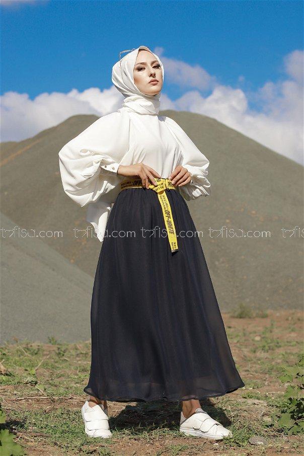 Skirt Navy Blue - 3222