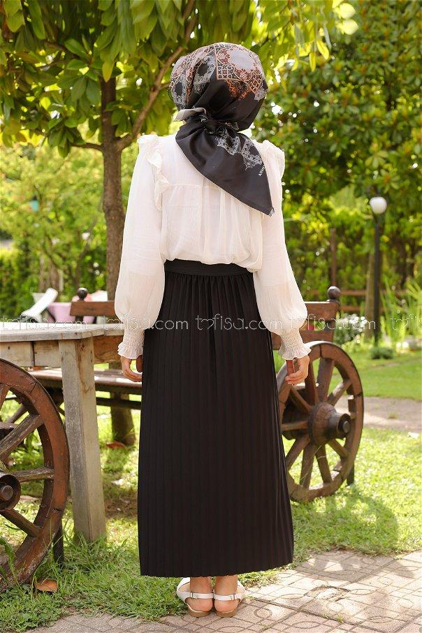 Skirt Pleated Black - 3234