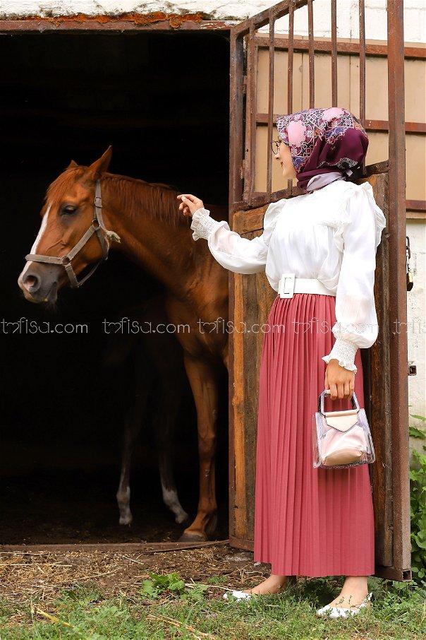 Skirt Pleated Rose - 3234