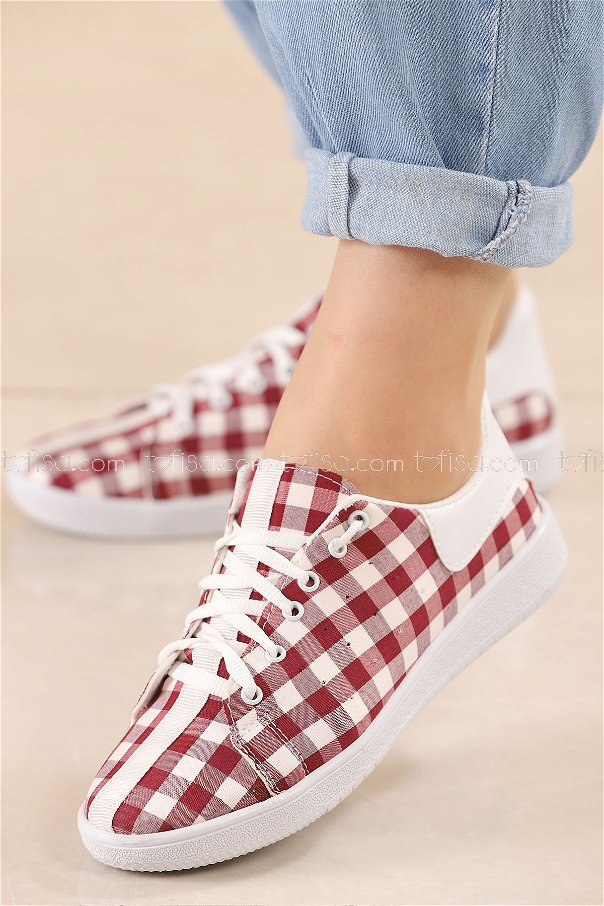 Sneakers CLARET RED - 8846