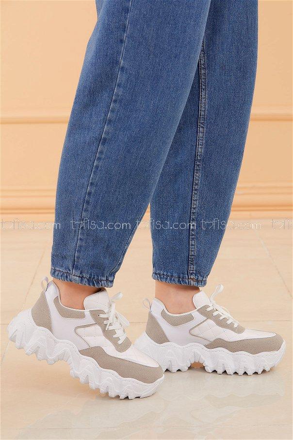 Sneakers WHITE - 20574