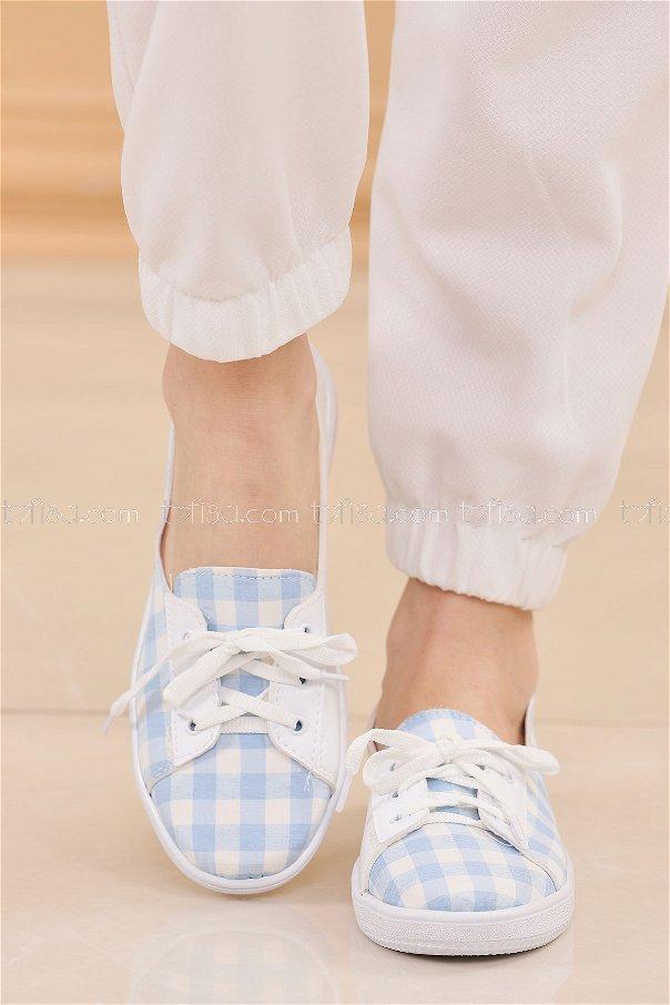 Spor Ayakkabı BEBE MAVI - 8847