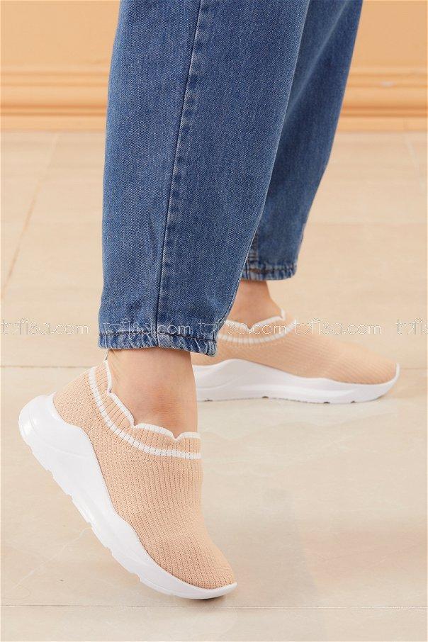 Spor Ayakkabı BEJ - 20533