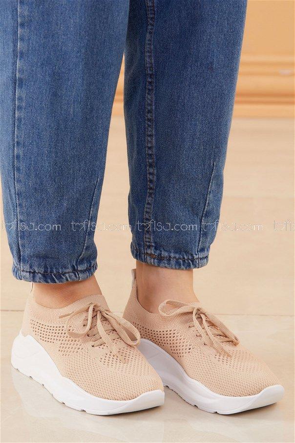 Spor Ayakkabı BEJ - 20534