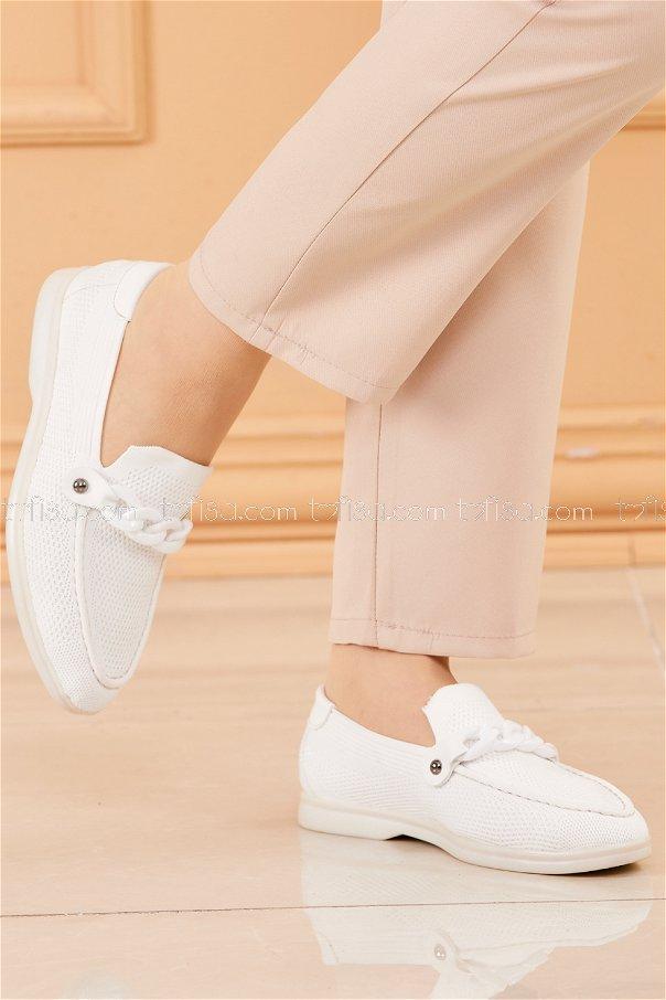 Spor Ayakkabı BEYAZ - 20202