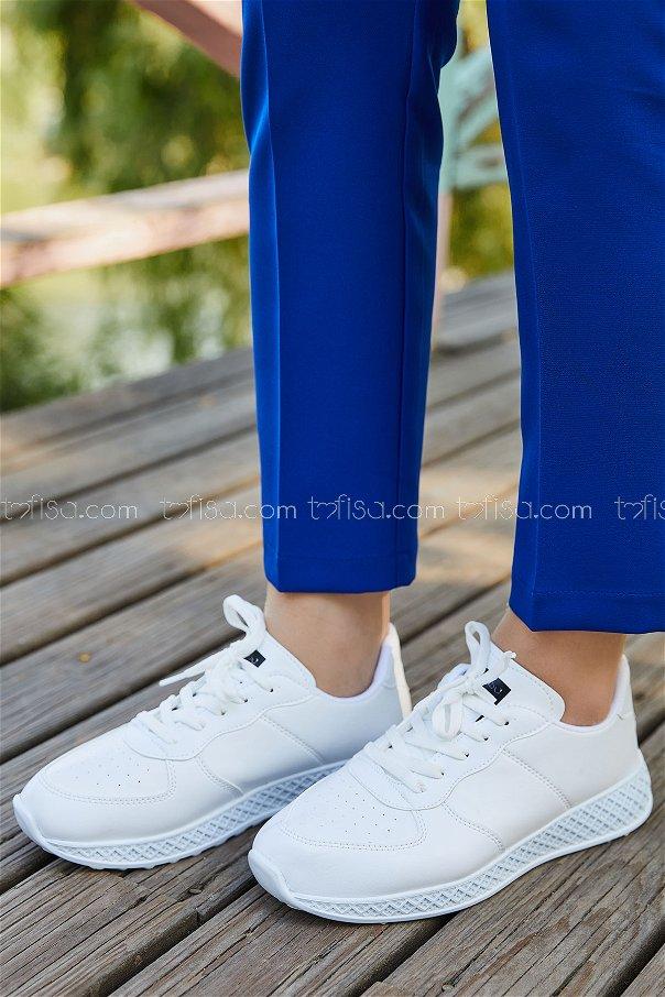 Spor Ayakkabı BEYAZ - 8838