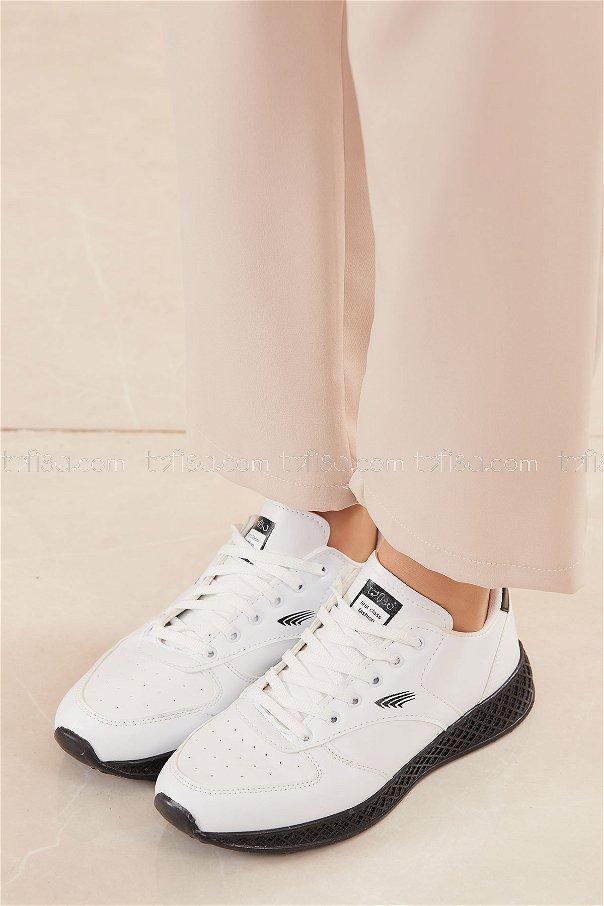 Spor Ayakkabı BYZ SIYAH SIYAH - 8690