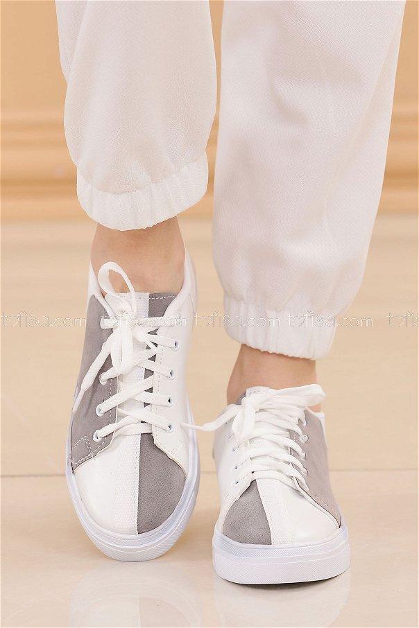 Spor Ayakkabı GRI - 8843