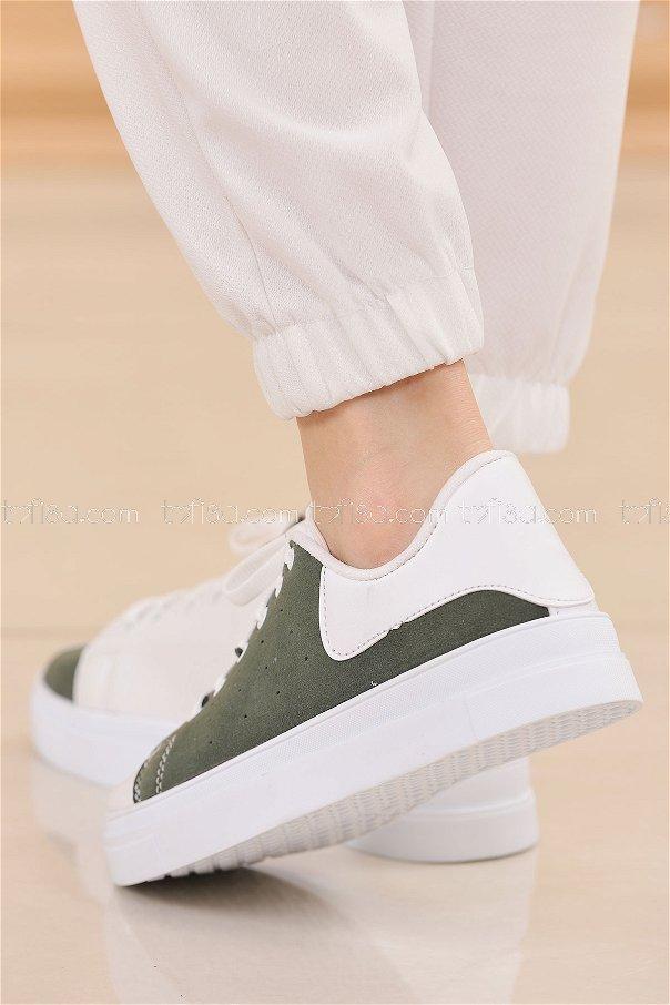 Spor Ayakkabı HAKI - 8843