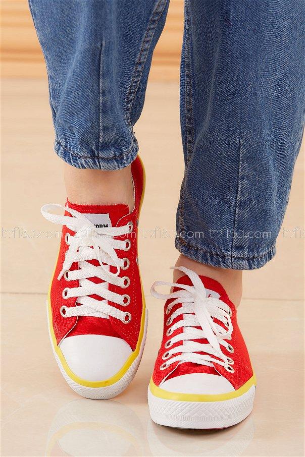 Spor Ayakkabı KIRMIZI - 20404
