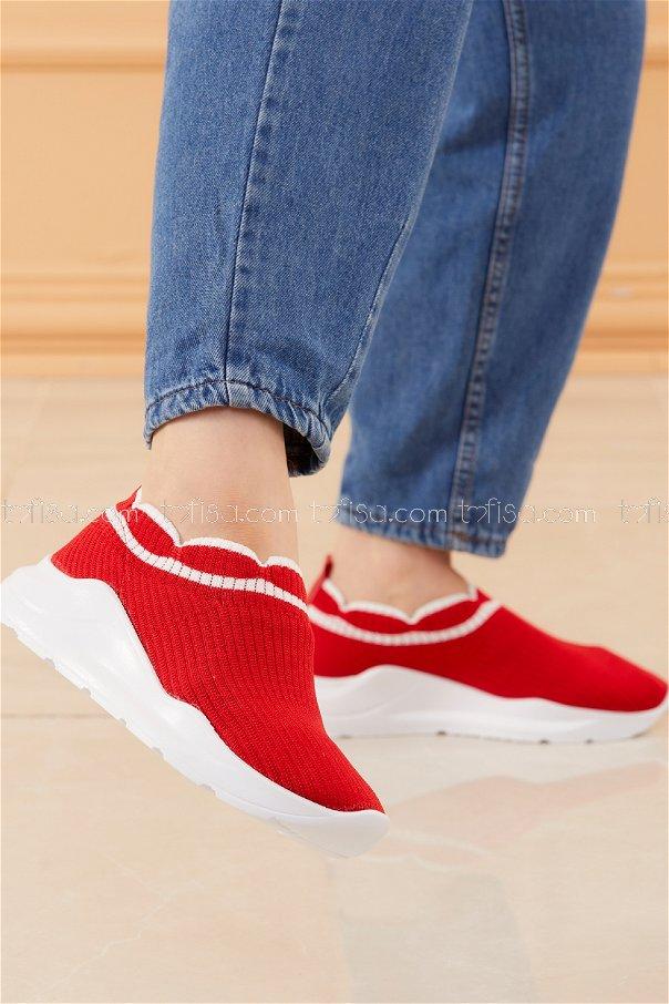 Spor Ayakkabı KIRMIZI - 20533