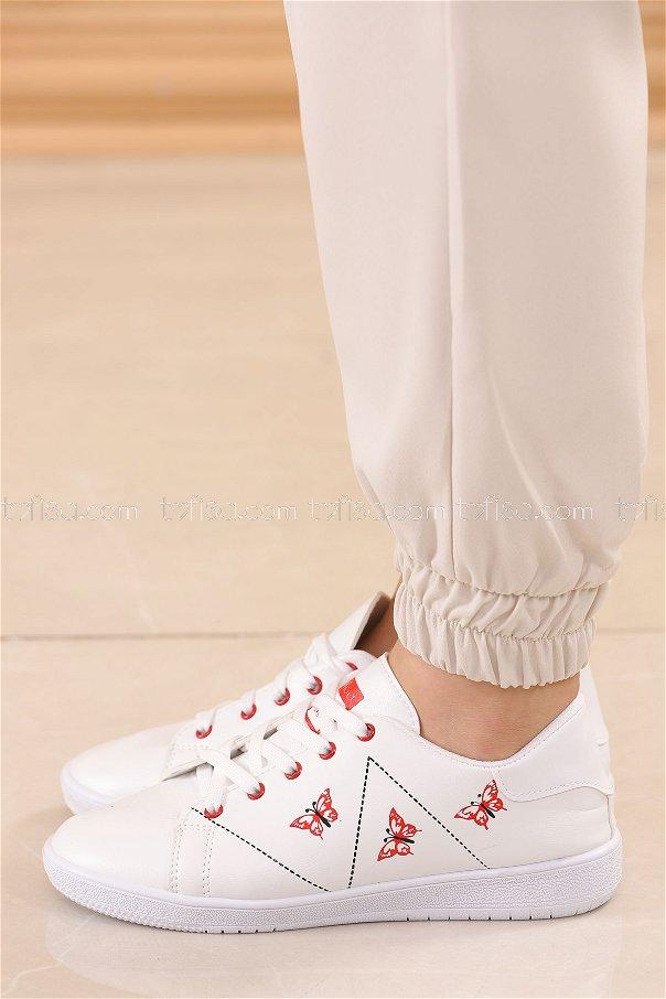 Spor Ayakkabı KIRMIZI - 8840